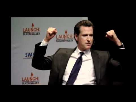 Gavin Newsom, Lieutenant Governor of California at Launch: Silicon Valley 2011